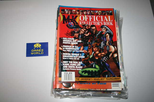 Mortal Kombat 3 Official Kollectors Book